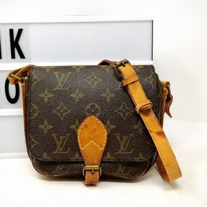Sold Louis Vuitton Cartouchiere monogram crossbody